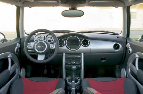 mini cooper S GP interior