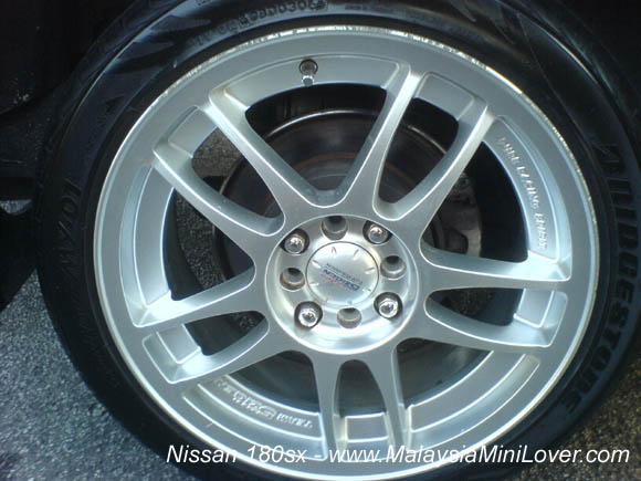 nissan 180sx wheels