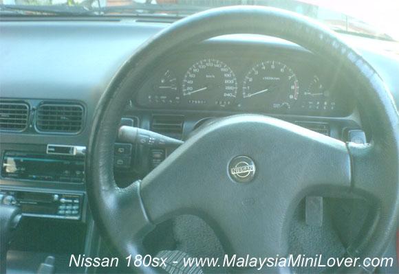 nissan 180sx dashboard