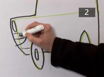 draw cartoon cars step 5