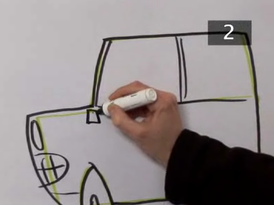 draw cartoon cars step 7