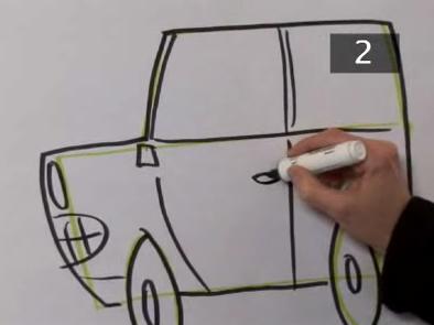 draw cartoon cars step 8