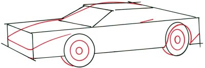 drawing car 2