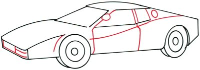 drawing car 3