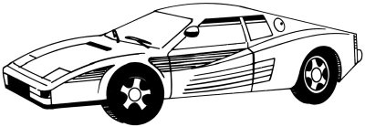 drawing car 5