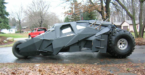 replica batman's car