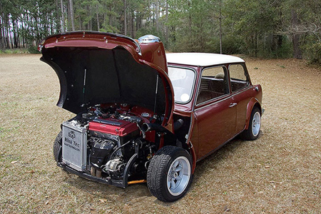 Mini with Honda engine