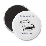 Life is short, drive slow