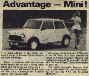 Mini Advantage