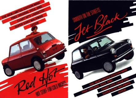 Mini Red Hot Jet Black