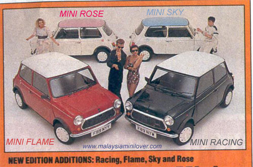 Mini Racing Flame Rose Sky