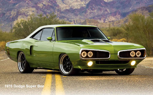 old muscle cars Dodge Coronet