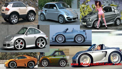 fake smart car body kits