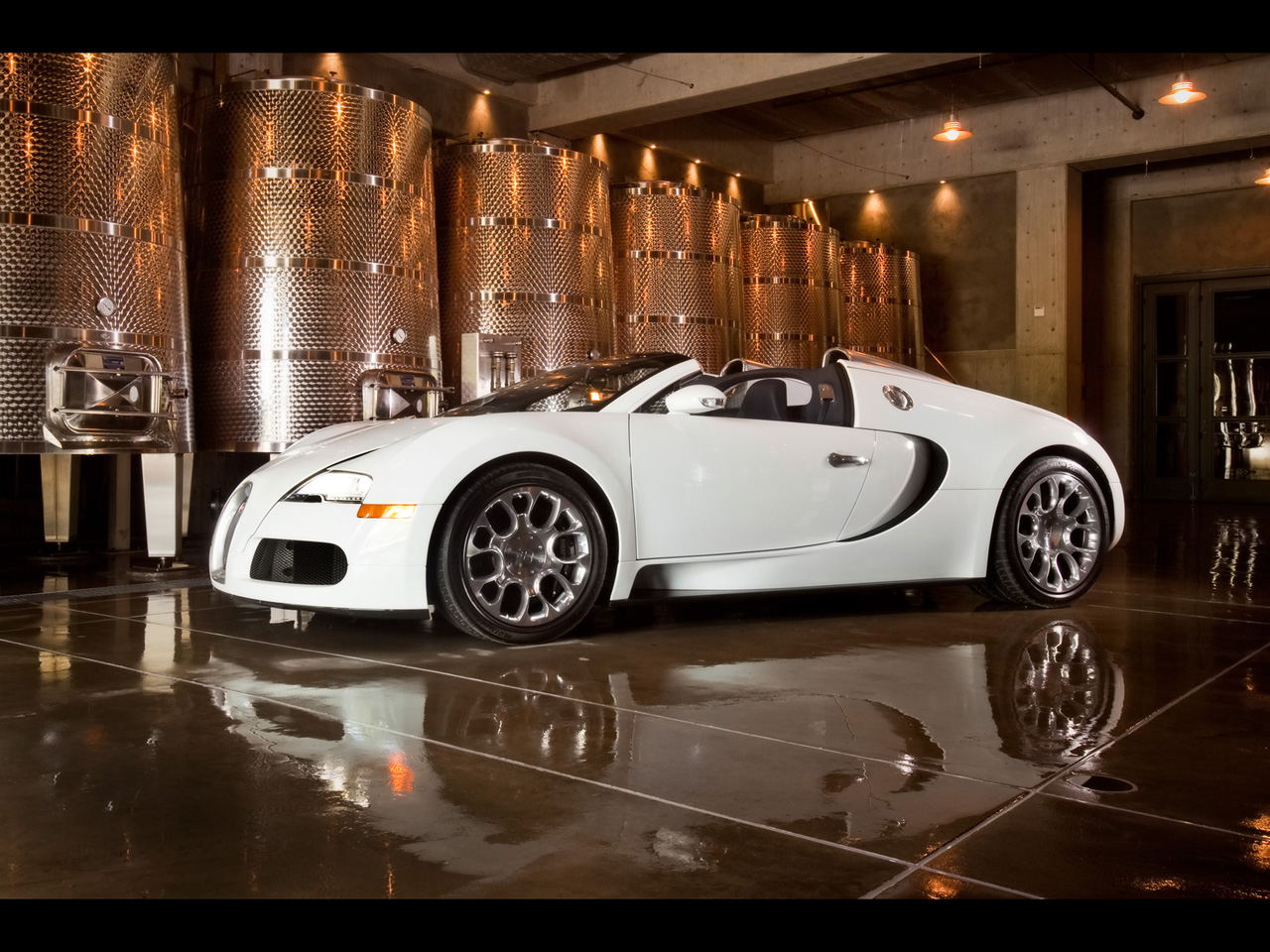 Bugatti Veyron exotic car wallpaper