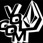 Volcom car stickers