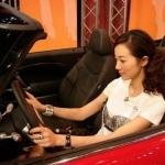 Han Xue meets Red Mini Cooper