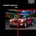 Mini Cooper Owner's Manual