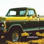 1974 Ford crew wheelbase