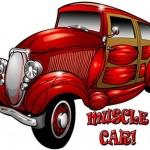 Cartoon car art