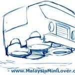 Cartoon car sketches