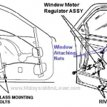 Town car window repair