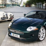 What company makes Jaguar cars?