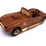 How to build a wooden car