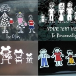Family Car Decals