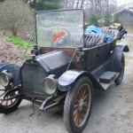 A glance at the original 100-year-old 1912 Buick Model 35