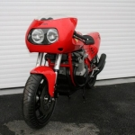 World's one and only Ferrari motorcycle fetches £85,000