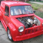 Crazily modified Austin Se7en Van