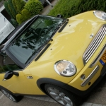 Nice and clean Yellow Mini Cooper S R53