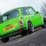 These Minis are green, but they are green in style