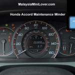 Honda Accord Maintenance Schedule