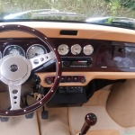 Customized Austin Mini Cooper Car Interior