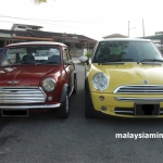 BMW MINI Cooper vs. Classic Mini Cooper