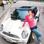 <b>Mini Cooper and Beatrice Hsu Wei Lun (许玮伦)</b>