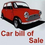 <b>Car bill of sale</b>