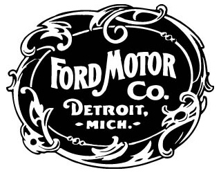 ford motor company first logo