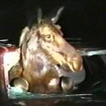 <b>Moose Stuck In Car</b>