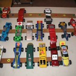 <b>Pinewood derby cars</b>