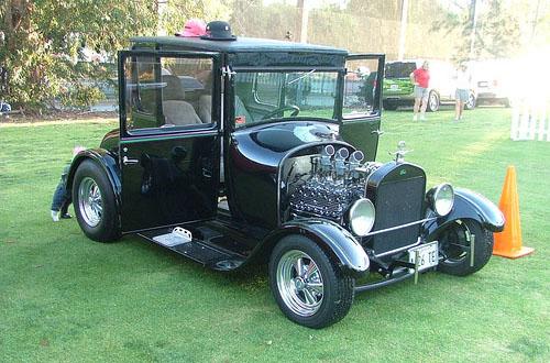 chrome customized car