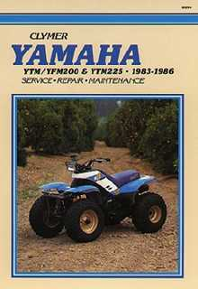 Yamaha atv service manuals