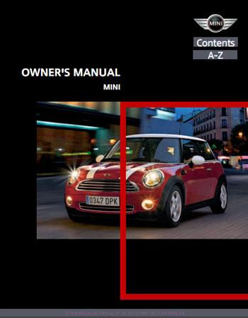 2007 Mini Cooper Hardtop Owner's Manual