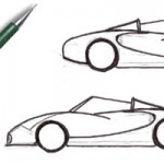 <b>Step by step drawing cars</b>