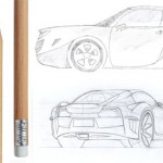 <b>Muscle car drawings</b>