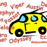<b>List of car names</b>