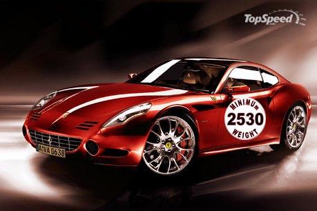 Ferrari weight