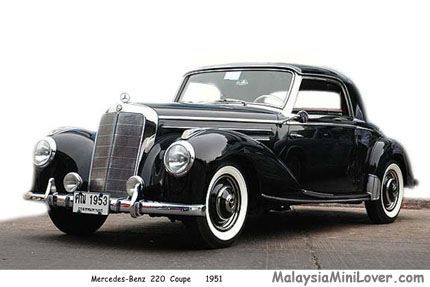 1951 Mercedes-Benz 220 Coupe