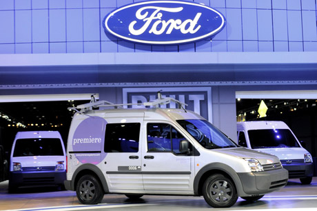 Ford cars and logo